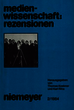 Rentschler, Eric: West German Film in the Course of Time