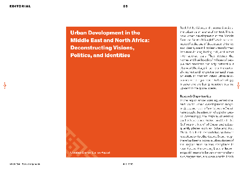 Urban Development in the Middle East and North Africa: Deconstructing Visions, Politics and Identities
