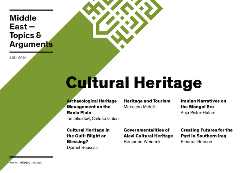 Heritage and Tourism. Global Society and Shifting Values in the United Arab Emirates