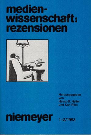 Ansehen Nr. 1-2 (1993)