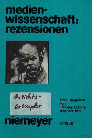 Ansehen Nr. 4 (1986)