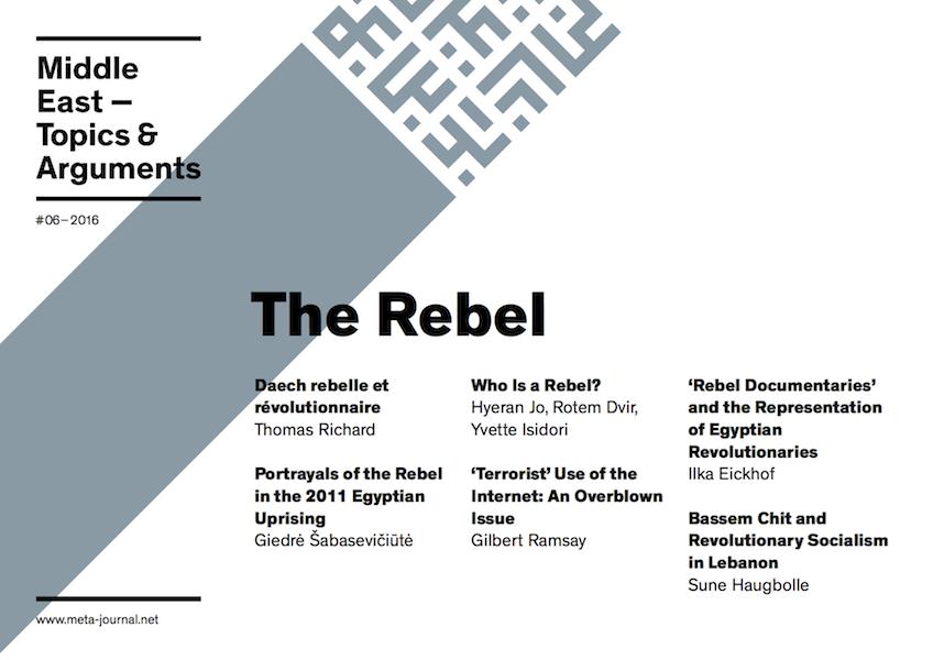 Ansehen Bd. 6 (2016): The Rebel