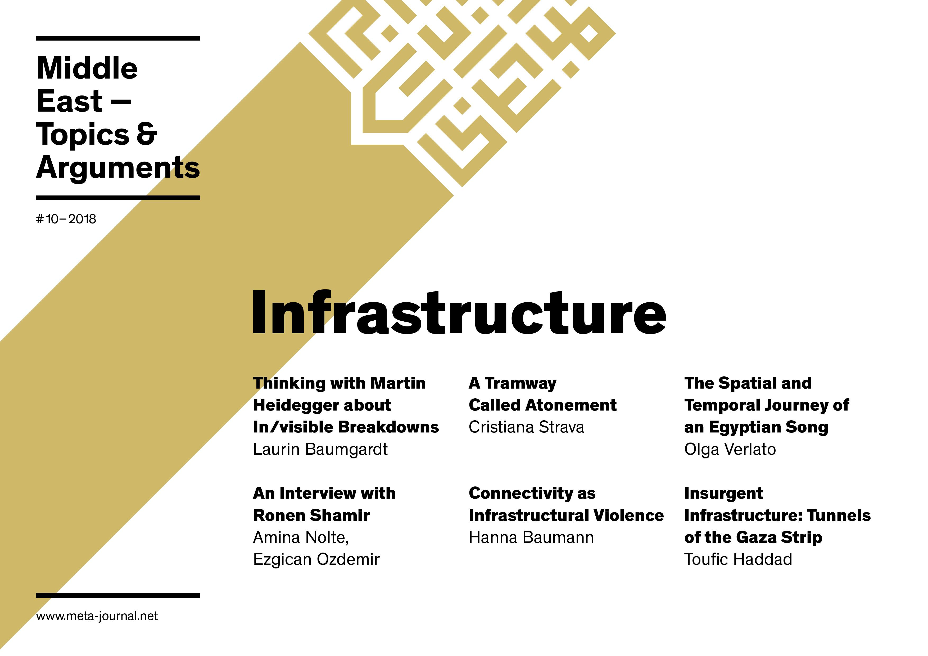 Ansehen Bd. 10 (2018): Infrastructure