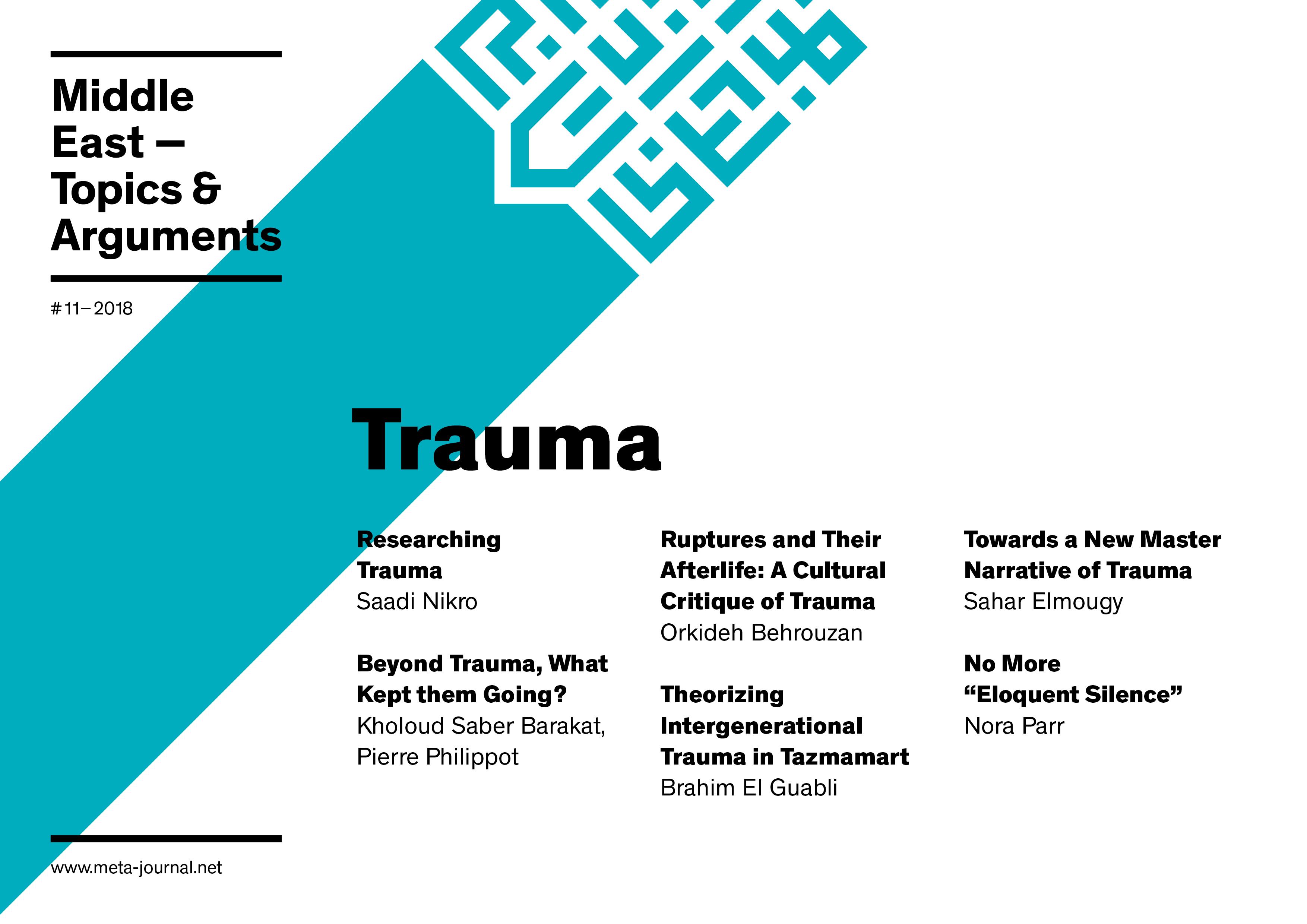 Ansehen Bd. 11 (2018): Trauma