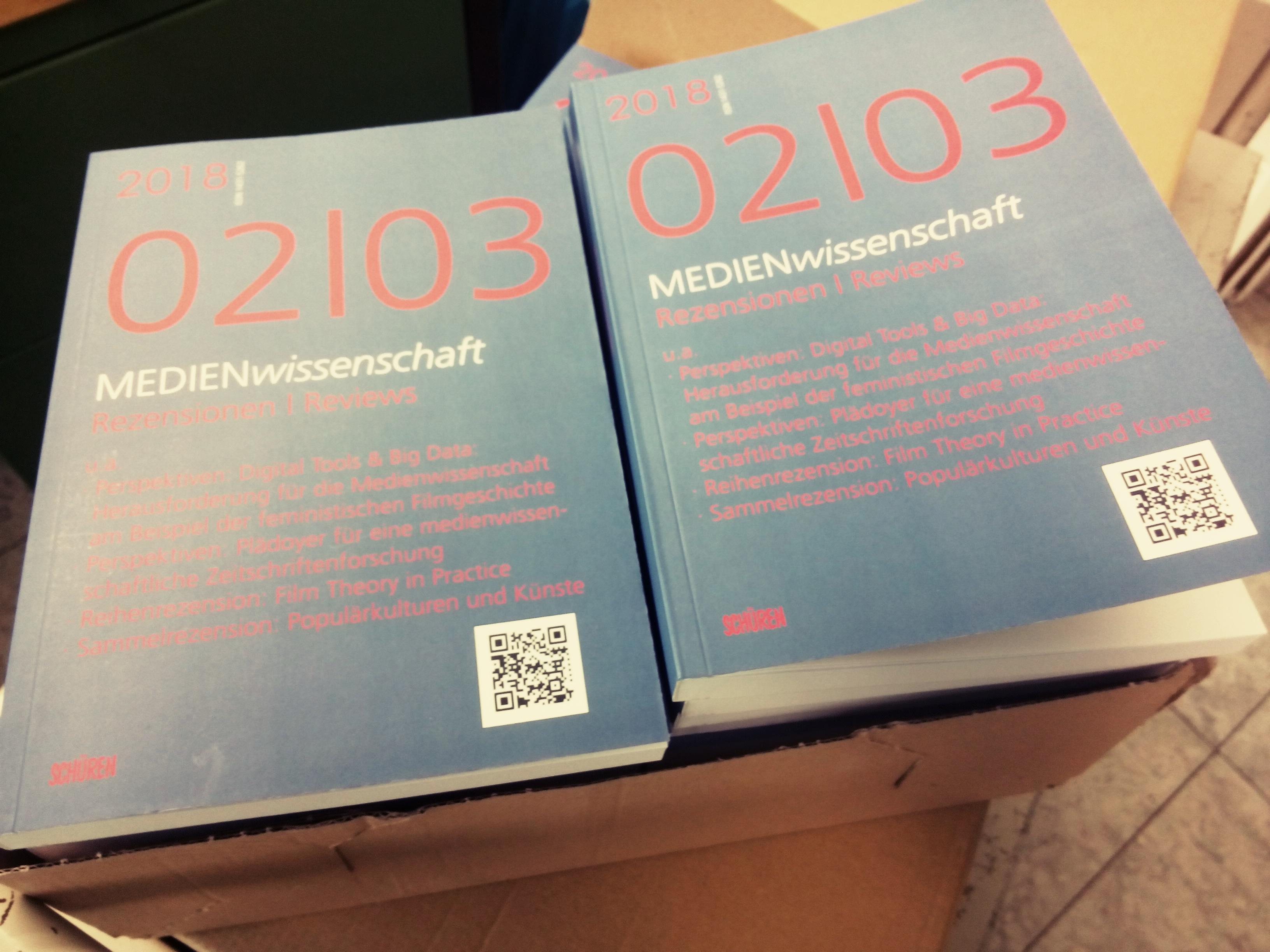 Mitteilungen Medienwissenschaft Rezensionen Reviews